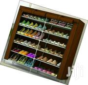 A Portable Wooden Frame Shoe Rack. | Furniture for sale in Nairobi, Harambee