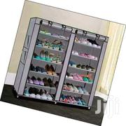 A Portable Wooden Frame Shoe Rack. | Furniture for sale in Nairobi, Hospital (Matha Re)