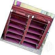A Portable Wooden Frame Shoe Rack. | Furniture for sale in Nairobi, Kasarani