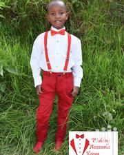 Children Tuxedo Shirts, Khaki Trousers, Suspenders And Bow Ties   Clothing Accessories for sale in Nairobi, Nairobi Central