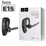 HOCO E15 Rede Business Wireless Headset With Voice Control | Accessories for Mobile Phones & Tablets for sale in Nairobi, Landimawe
