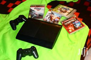 Used Ps3 But In Good Condition With 4games,2controllers And 1hdmicable