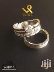Custom Made Sterling Silver Bride N Groom Wedding Ring Bands | Jewelry for sale in Nairobi, Nairobi Central