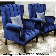 Wing Chair 2 Pieces | Furniture for sale in Mombasa, Mkomani