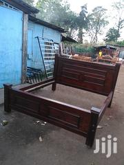 Wooden King Bed | Furniture for sale in Nairobi, Ngando