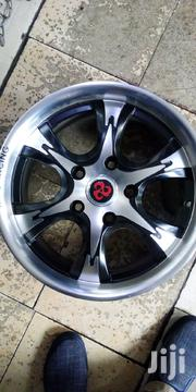 Mark II Black & Silver Sport Rim Size 15 Set | Vehicle Parts & Accessories for sale in Nairobi, Nairobi Central