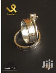14k Gold Fusion With Silver Bride N Groom Wedding Ring Bands | Jewelry for sale in Nairobi, Nairobi Central