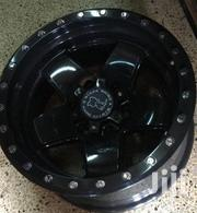 17 Inches Sport Rims Mud Black For Toyota Prado,Surf And Hilux(Set) | Vehicle Parts & Accessories for sale in Nairobi, Nairobi Central