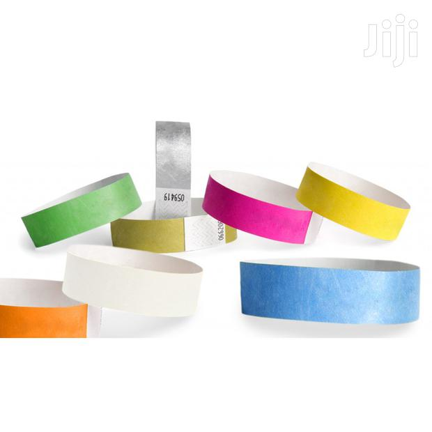 Event Wristbands \ Event Tags \ Paper Wristbands
