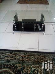 Coffee Table Glass Top Black/Silver | Furniture for sale in Mombasa, Likoni