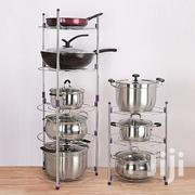 5 Pc Cooking Pots And Pan Stand | Kitchen & Dining for sale in Nairobi, Nairobi Central