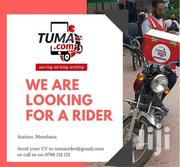 Looking For A Rider | Logistics & Transportation Jobs for sale in Mombasa, Mji Wa Kale/Makadara