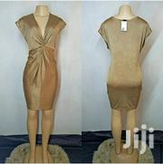 Gold Stretchy Fabric Dress Size 12/14/16 | Clothing for sale in Nairobi, Nairobi Central