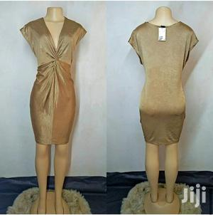 Gold Stretchy Fabric Dress Size 12/14/16