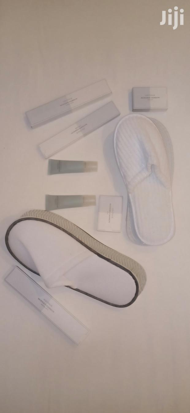 Archive: Europe Quality Hotel Bathroom Kit Slippers, Shampoo, Soaps