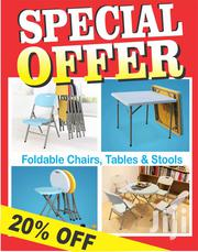 Foldable Tables and Chairs Available | Furniture for sale in Nairobi, Imara Daima