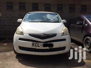 Toyota Ractis 2010 White | Cars for sale in Nairobi, Lower Savannah