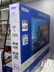 British Haier 55 Inches Android 4K UHD Smart Tv With Google Playstore   TV & DVD Equipment for sale in Nairobi, Nairobi Central