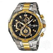 Gold&White Dial Chronograph Silver-gold Watch | Watches for sale in Nairobi, Nairobi Central