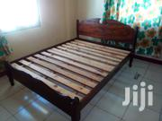 Mvule Bed Size 5x6ft   Furniture for sale in Mombasa, Likoni