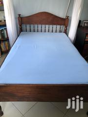 Mvule Bed 6x4 With Mattress and Mosquito Net | Home Accessories for sale in Mombasa, Tudor