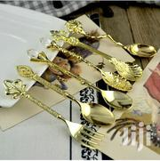 Set Of 6 Bespoke Gold And Silver Spoons   Kitchen & Dining for sale in Nairobi, Nairobi South