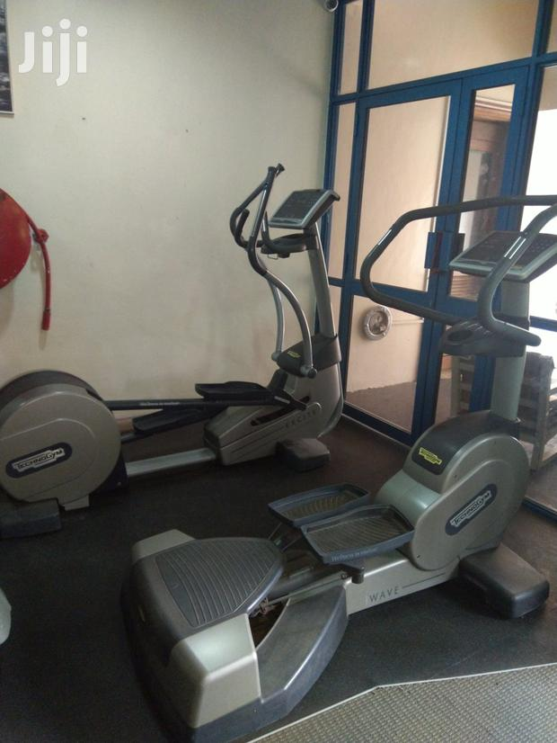 Archive: Techno Gym Wave and Cross Trainers