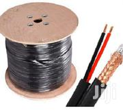 CCTV RG59 Coaxial Cable With Power- CCTV Cable   Cameras, Video Cameras & Accessories for sale in Nairobi, Nairobi Central