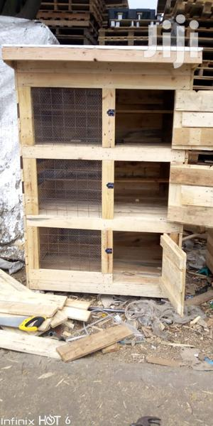 Chicken Cages Of Different Sizes