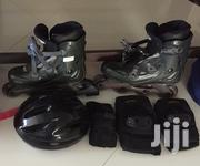 Roller Blades With Safety Equipment | Sports Equipment for sale in Mombasa, Shimanzi/Ganjoni