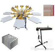 4 Color 4 Station Screen Printing Machine | Printing Equipment for sale in Nairobi, Nairobi Central