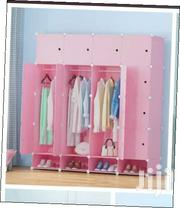 A Portable Wooden Frame Wardrobe. | Furniture for sale in Nairobi, Gatina