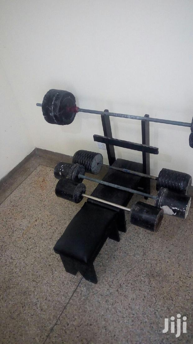 Archive: Home Made Gym