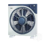"Mika MFB1210/DG, Box Fan, 12"", 5 Pc Blade 