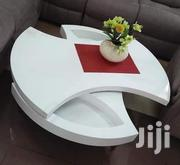 Rotating White Classy Coffee Table. | Furniture for sale in Nairobi, Kahawa