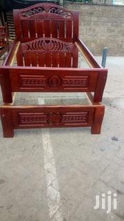 Quality Mahogany Ready Made 4by6 Bed | Furniture for sale in Nairobi, Ngara