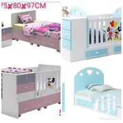 2in1 Baby Cot and Bed | Children's Furniture for sale in Nairobi, Nairobi Central