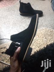 """Clarks Suede Boots - """"Brand New + Black"""" 