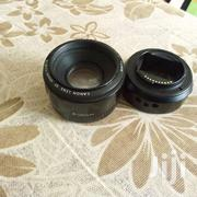 Canon 50mm 0.5m/1.5ft Lens Plus Sony Mount Adapter | Accessories & Supplies for Electronics for sale in Nairobi, Embakasi