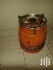 Empty 6kg Gas Cylinder With Banner And Stand | Kitchen Appliances for sale in Nairobi, Ruai