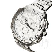 Drauben Silver Hip Hop Bling Watch | Watches for sale in Mombasa, Majengo
