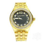 Men's 18k Gold Plated Iced Hip Hop Bling Watch | Watches for sale in Mombasa, Majengo