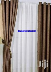 Brown Linen Curtain | Home Accessories for sale in Nairobi, Nairobi Central