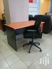 1.2m Imported Desk + Heavy Duty Mid Back Chair Combo | Furniture for sale in Nairobi, Woodley/Kenyatta Golf Course