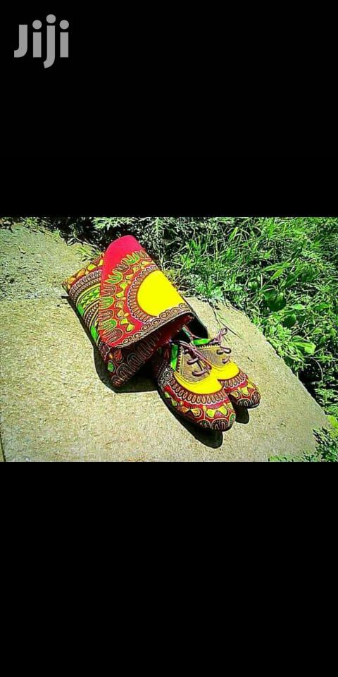 Archive: African Wear (Ankara Shoes)