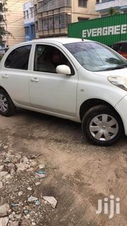 Nissan March 2009 White | Cars for sale in Mombasa, Tudor