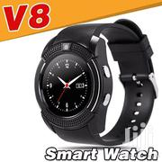 Sporty Smart Watch and Phone With Camera 8v Model | Smart Watches & Trackers for sale in Nairobi, Umoja II