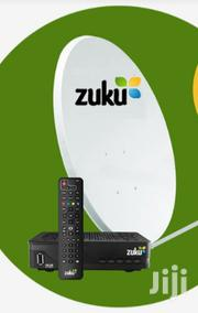 Used Zuku Decoder And Dish. Nakuru | TV & DVD Equipment for sale in Nakuru, London