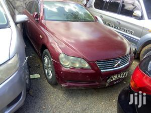 Toyota Mark X 2005 Red