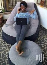 Intex Inflatable Couch Seat and Puff Footrest Ottoman | Furniture for sale in Nairobi, Kasarani